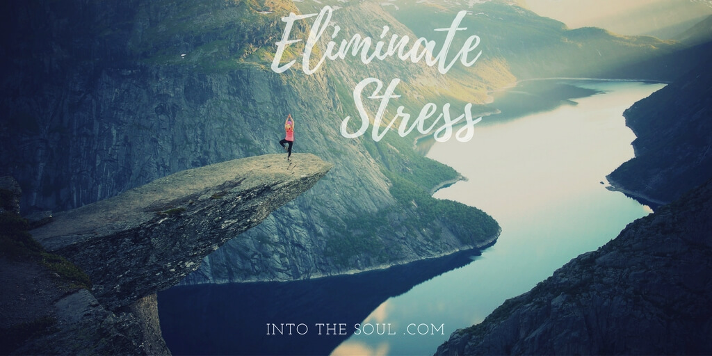 can't take a vacation, eliminate stress