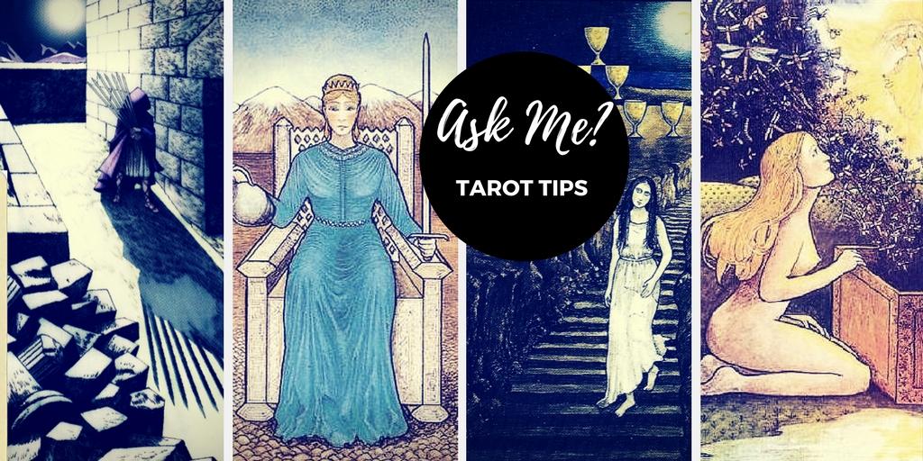 ask me, tarot tips