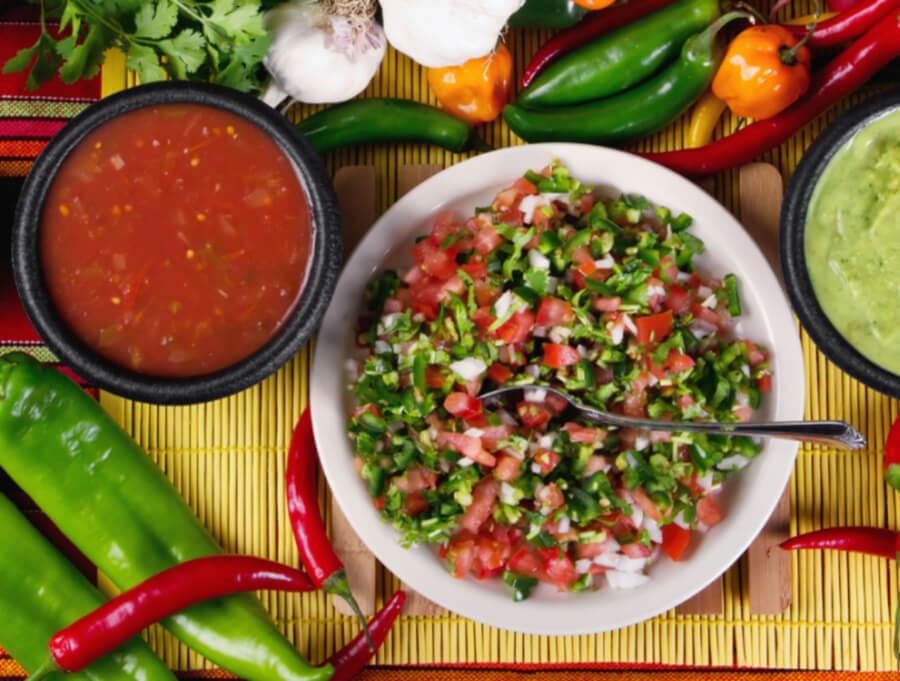 mexican salsa, vegan salsa