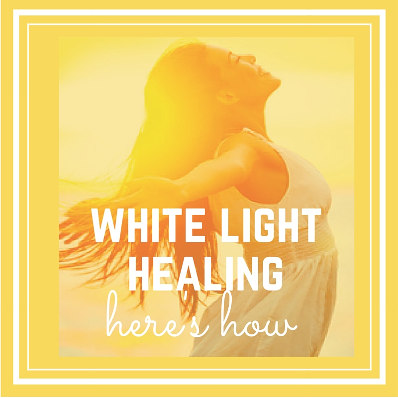 white light healing